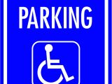 Handicap Parking Sign Template Free Printable No Parking Signs Download Free Clip Art