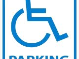 Handicap Parking Sign Template Reserved Parking Signs Template