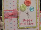 Handmade Birthday Card for Girl Happy Birthday Card Homemade Birthday Cards Handmade
