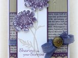 Handmade Birthday Card for Jiju 50 Best Su Field Flowers Images Flower Cards Stampin Up