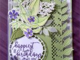 Handmade Birthday Greeting Card Designs Stamp Set Wonderful Romance Greeting From Picture Perfect