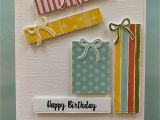 Handmade Card for Best Friend Stampin Up Sale Happy Birthday Presents Birthday