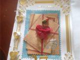 Handmade Card for Husband On Anniversary A Handmade Anniversary Card L Made for My Husband