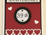 Handmade Card for Husband On Anniversary Cby Handmade Anniversary Card that I Made for My Husband