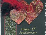 Handmade Card for Husband On Anniversary Handmade Anniversary Cards for Husband Wedding