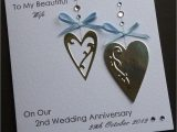 Handmade Card for Husband On Anniversary Handmade Anniversry Cards