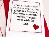 Handmade Card for Husband On Anniversary Husband Boyfriend Handmade Anniversary Card by Jenny