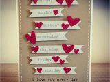 Handmade Card for Husband On Anniversary Inspiration Handmade Anniversary Cards for Husband Design