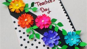 Handmade Card for Kindergarten Teacher Teachersdaysong Teachersday Teachersdaycard Punekarsneha