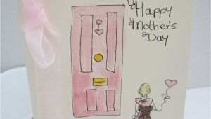 Handmade Card for Mother S Day Watercolour Card Mum Card Mothers Day Card Mothers Day