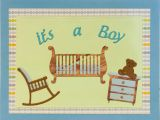 Handmade Card for New Born Baby It S A Boy Baby Shower Card Homemade Cards Handmade Cards