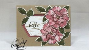Handmade Card for Rose Day Hello Wild Rose Flower Cards Fun Fold Cards
