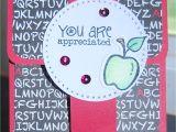 Handmade Card for Teacher Appreciation Gift Cards Holders at 4 Crafty Chicks Teacher Appreciation