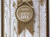 Handmade Card Ideas for Birthday Using Stampin Up Hardwood Stamp Cards Handmade Birthday