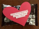 Handmade Card Ideas for Boyfriend Diy Boyfriend Gift A Kiss A Day Keeps the I Miss You