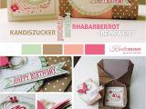 Handmade Card In A Box Kreativersum Stampin Up Su Cremeweia Altrosa
