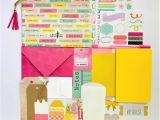 Handmade Card Kits for Sale Journal Bag Kit Paper Ephemera Inspiration Pen Pals Gift