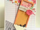Handmade Card Making Ideas for Teachers Day Pencil Shaker with Images Teacher Cards Teacher