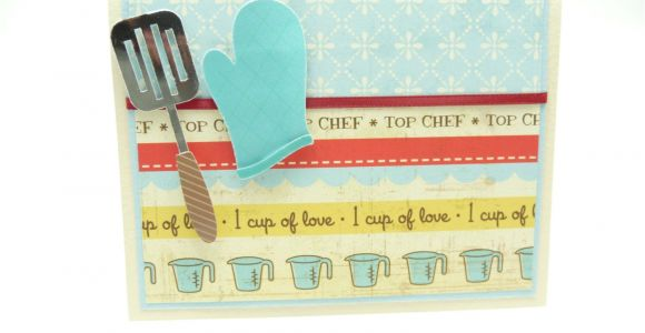 Handmade Card On Mother S Day Happy Mother S Day Card Mother S Day Cooking Card Chef
