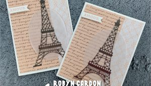 Handmade Card Shop Near Me Video Episode 744 Stampin Up Parisian Beauty Card In