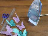 Handmade Card with Foaming Sheet butterfly Wall Decor Diy Foam Sheet Craft Ideas Glitter