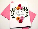Handmade New Home Card Ideas 20 Sweet Birthday Card Ideas for Mom Candacefaber