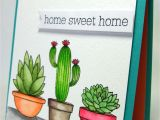 Handmade New Home Card Ideas Mft Sweet Succulents with Images Cards Greeting Cards