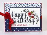 Handmade Pop Up Birthday Card Stampin Up Happy Inkin Thursday Big On Birthdays Blog