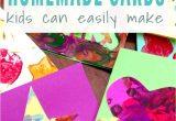 Handmade Thank You Card Designs Four Simple Cards Kids Can Make Thank You Card Design
