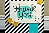 Handmade Thank You Card Designs Stampin Up Handmade Thank You Card From Get Crafty