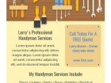 Handyman Flyer Templates Free Download Best Handyman Flyers for Sale