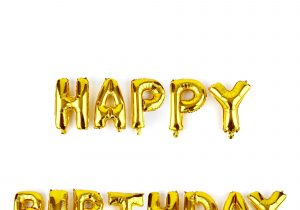 Happy Birthday Banner Card Factory Buy Happy Birthday Gold Balloon Banner Kit for Gbp 9 99