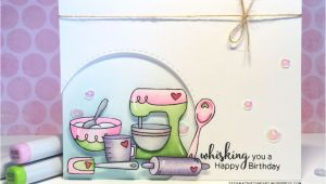 Happy Birthday Card Art and Craft Wisking You A Happy Birthday Birthday Card Series Ft