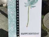 Happy Birthday Card Black and White Geburtstagskarte Birthday Card Stampin Up Dsp