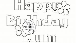 Happy Birthday Card Coloring Pages Birthday Cards for Colouring Printable D 2020 D