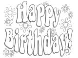 Happy Birthday Card Coloring Pages Free Happy Birthday Dad Printable Coloring Pages Download