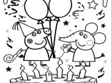 Happy Birthday Card Coloring Pages Peppa Pig Happy Birthday Coloring Page Peppa Pig Coloring