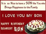 Happy Birthday Card In Hindi Happy Birthday son Images Birthday Wishes for son