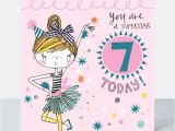 Happy Birthday Card Little Girl 7th Birthday Card Girl You are A Superstar 7 today Little Miss Sassy Birthday Card Children S Birthday Card Daughter Granddaughter