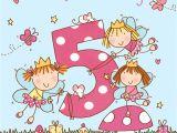 Happy Birthday Card Little Girl Age 5 Girls Twinkly Birthday Card