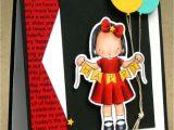 Happy Birthday Card Little Girl Ds160 Happy Happy Birthday Kids Birthday Cards