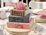 Happy Birthday Card Name Editor I Love the Idea Of A Book Cake Maybe I M A Little Obsessed