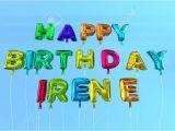 Happy Birthday Card Name Editor Stock Photo