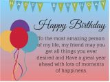 Happy Birthday Card to Best Friend Quotes About Friendship for Birthday 18 Quotes