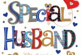 Happy Birthday Card to Husband Special Husband Happy Birthday Greeting Card
