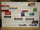 Happy Birthday Card Using Candy Bars Birthday Card Made Out Of Candy Bars Card Design Template