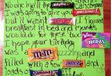 Happy Birthday Card Using Candy Bars Candy Bar Birthday Card with Images Candy Bar Birthday