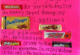 Happy Birthday Card Using Candy Bars Candy Poster for Birthdays Candy Poster Happy Birthday