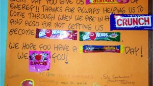 Happy Birthday Card Using Candy Happy Birthday to Our Favorite Teacher Awesome Candy