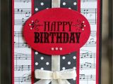 Happy Birthday Card with Music Pin On Cards